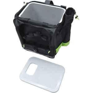Kombinerad skrylla med ryggsäck i populär modell. Mycket populär vid pimpelfiske.