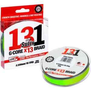 Sufix 131 G-Core x13 Braid är en 13-trådig superlina med en helt rund profil.