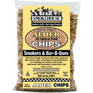 Använd Chips 'n' chunks rökspån för att få en rund