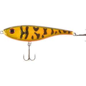 The Duke är designad för att kunna fiskas antingen som ett traditionellt jerkbete eller att tas hem som en vanlig wobbler.