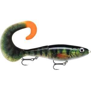Rapalas hyllade X-Rap Peto i en Curly-tail version kallad Otus! Totallängd 25cm varav kroppen är 14cm. Vikt 90gr