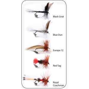 Hurricane flugsortiment innehåller alla typer av flugor och nympher som är väl beprövade i våra nordiska vatten.
