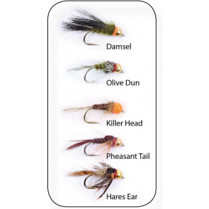 Nymphs Weighted 5-pack