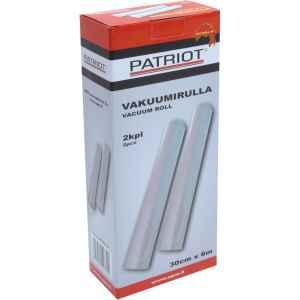 Med Patriots vakuumprodukter förvarar du fisk och andra råvaror färska länge.