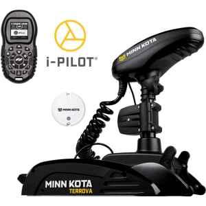Minn Kota Terrova BT i-Pilot är en elektrisk trollingmotor för montering i fören