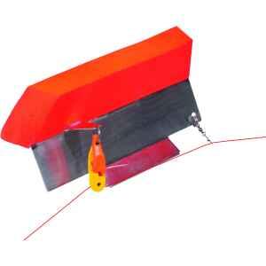 Wiggler Sidekick spöparavan är lättdriven och med mycket bra dragförmåga. Detta är en allroundparavan som kan användas till all typ av yttrolling. Finns i höger och vänster.